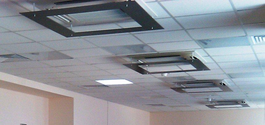 Экран для потолочного кондиционера