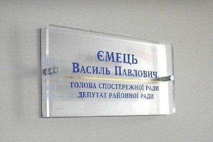 офісні вивіски, Київ, Київська область